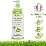 Alphanova, Bain moussant pour bébé, 3 en 1 - Bain corporel, shampooing et bain moussant, hypoallergénique, ne pique pas les yeux - Biologique - 500ml