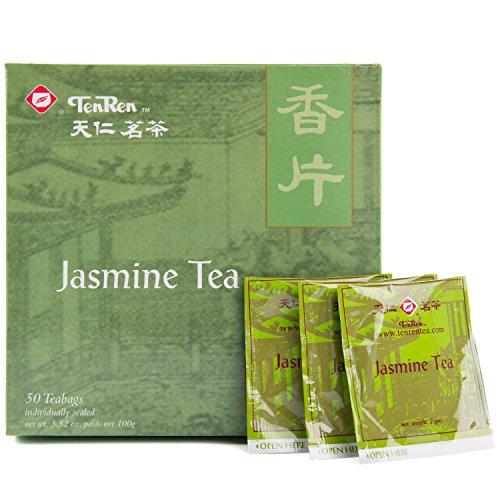 Ten Ren Jasmine, Taiwan High Mountain, Tea Bag Collection, 50 Bags
