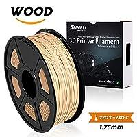 3D Printer Filament PLA Plus,PLA Plus Filament 1.75 mm SUNLU,Low Odor Dimensional Accuracy +/- 0.02 mm,2.2 LBS (1KG) by SUNLU