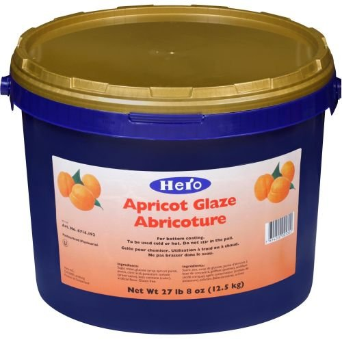 Hero Ready To Use Apricot Glaze, 27.5 Pound -- 1 each. by Hero (Image #1)