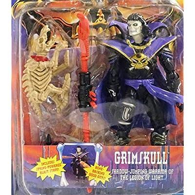 Skeleton Warriors Grimskull Action Figure: Toys & Games