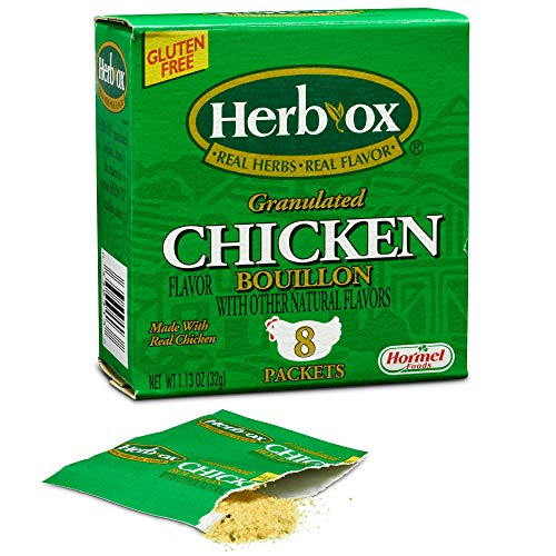 (Herb-Ox Bouillon Packets Chicken Instant Broth & Seasoning 1.13 oz box)