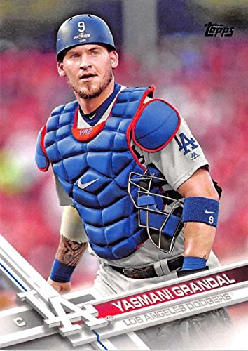 388 Series - 2017 Topps Series 2 #388 Yasmani Grandal Los Angeles Dodgers Baseball Card