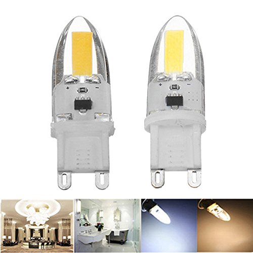 Lights & Lighting - G9 1.8w Dimmable Cob1505 180lm Warm White Pure White Led Light Bulb Ac110v Ac220v - Bulb - Cob - 1PCs - - Amazon.com