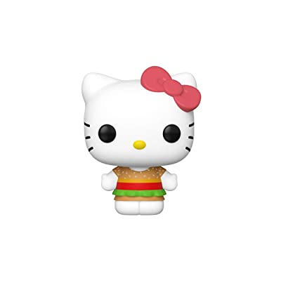 Funko Pop! Sanrio: Hello Kitty - Hello Kitty (Kawaii Burger Shop): Toys & Games