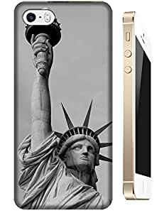Sangu Statue of Liberty Retro TPU Case / Cover for iphone 5 / 5s - Style9