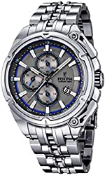 Festina F16881-3 Mens 2015 Chrono Bike Tour De France Silver Watch