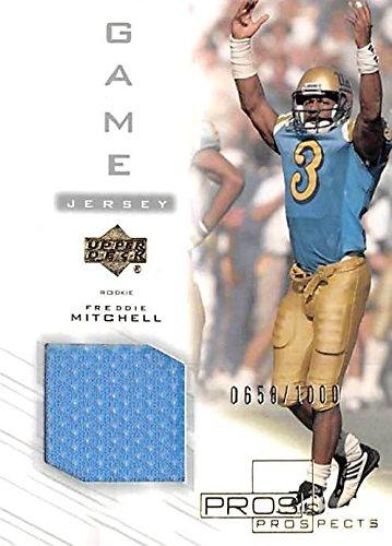 2019年春の Autograph Warehouse No. 345049 Bruins Freddie Mitchell Player Worn 2001 Jersey Patch Football Card - UCLA Bruins 2001 Upper Deck No. 134 B079J49DLX, セタグン:5f3567ad --- efichas.com.br