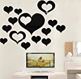 Description :3D Multi-dimension Square Silver DIY Shape Mirror Wall Stickers Home Wall Bedroom Office Decor Feature :3D Mirror effect wall sticker fashion silver acrylic home decor removable. You can DIY what you like.Only 1mm thick plastic mirror, l...