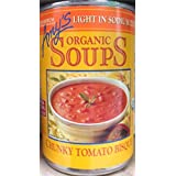 Amy's Organic Soups Light in Sodium Chunky Tomato Bisque 14.5oz Can (Pack of 5) by Amy's