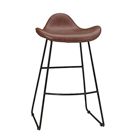 Magnificent Amazon Com 25 29 Bar Stool Upgrade Vintage Pu Leather Caraccident5 Cool Chair Designs And Ideas Caraccident5Info