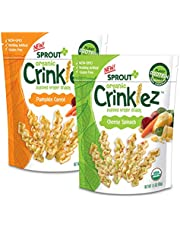 Sprout Organic Baby Food Toddler Popped Veggie Snacks Crinklez