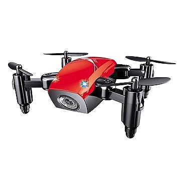 LINGYUN Mini Drone Remoto Plegable, Quadcopter de cámara WiFi FPV ...