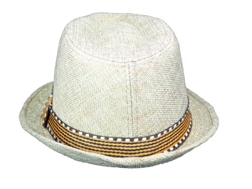 Subtle Addition Kids Fedora/Trilby Hats (Brown and Brown) by Subtle Addition (Image #1)
