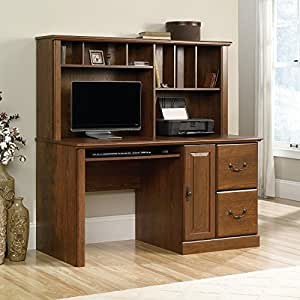 Amazon Com Sauder Orchard Hills Computer Desk With Hutch