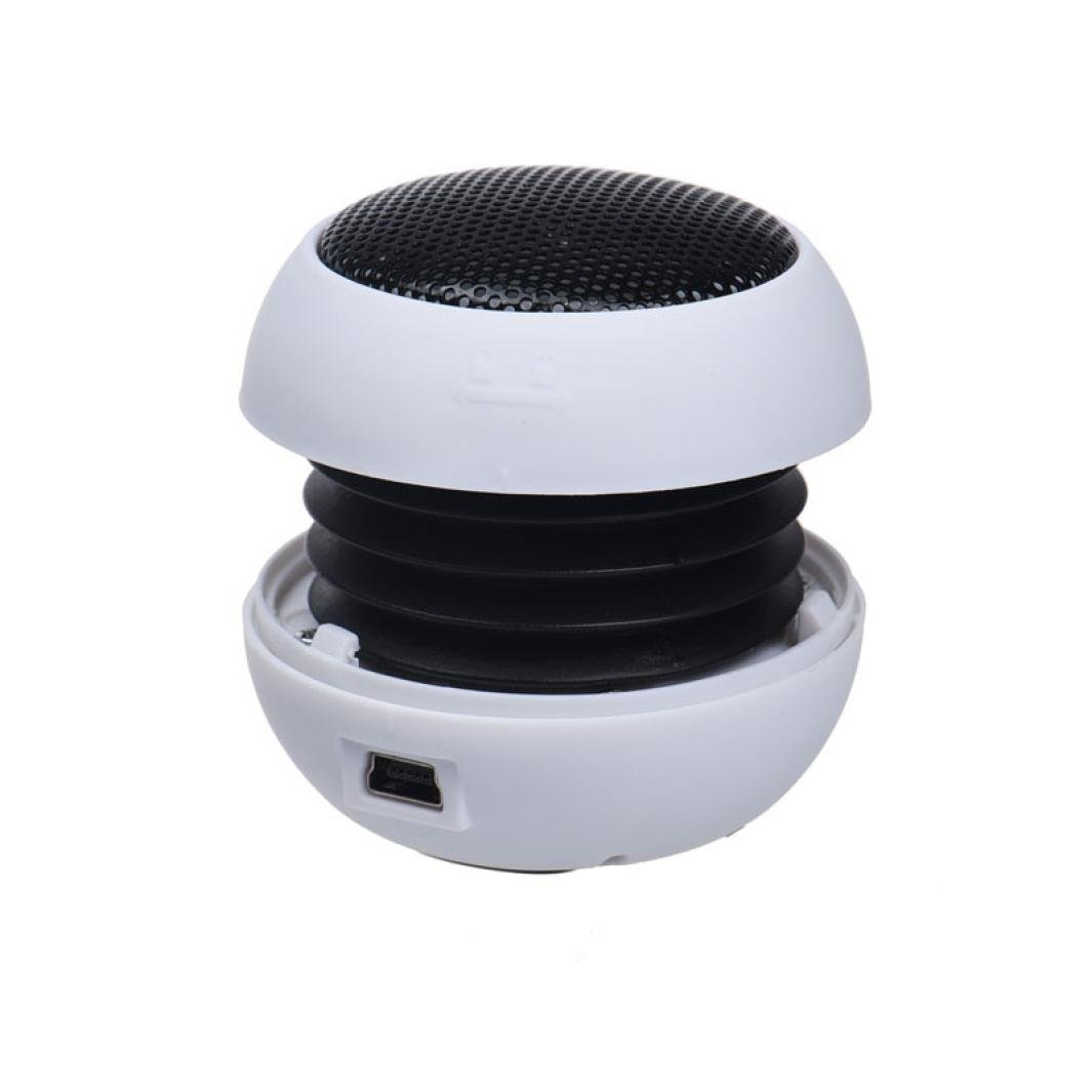 Damark Mini Portable Hamburger Speaker Amplifier For iPod For iPad Laptop iPhone Tablet PC