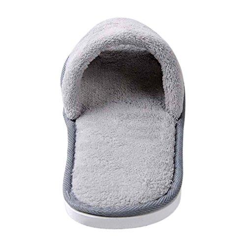 Opromo , Damen Hausschuhe Weiß
