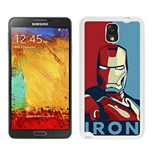 Iron man Case For Samsung Galaxy Note 3 White