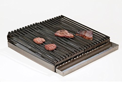 Uniworld 24'' x 24'' 4 Burner Lift-off Griddle Top with Grease Tray, Made from 7 Gauge Steel. Model UGT-MC24