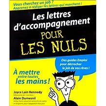 LETTRES D'ACCOMPAGNEMENT POUR LES NULS (LES)