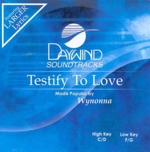 Testify To Love [Accompaniment/Performance Track] (Daywind Soundtracks) pdf epub