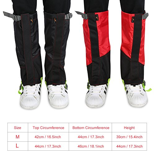 Leg Gaiters Leggings Cover 1Pair Waterproof Outdoor Climbing Hiking Snow High Boot Leg Cover