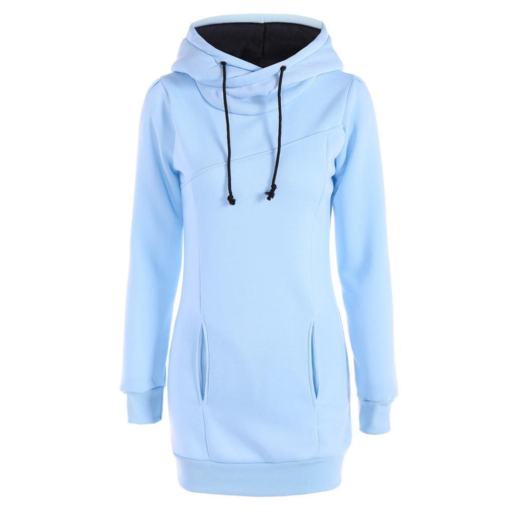 Tefamore Pull en Vrac Mode féminine T-Shirt à Manches Longues Blouse Tefamore -5345