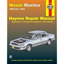 Nissan Maxima 1985 thru 1992 (Haynes Repair Manuals)