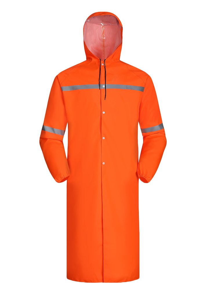 Insun OUTERWEAR メンズ レディース B074KZ7ZM7 4L|オレンジ オレンジ 4L