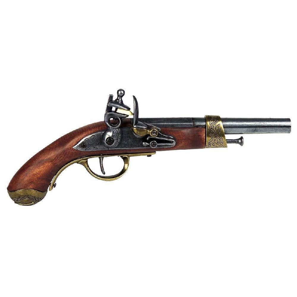 Haller Historie Deko-Pistole Holzgriff, 64120