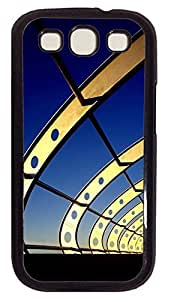 Samsung S3 case free Modern Architecture PC Black cover custom Samsung S3