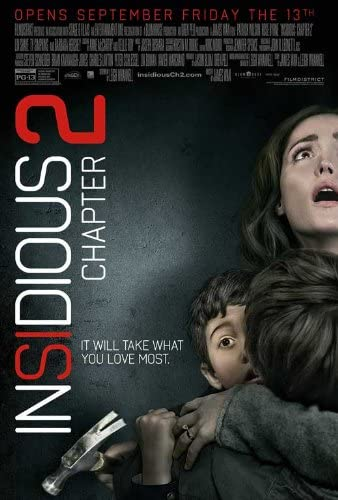Amazon.com: Insidious Chapter 2 (2013) 11 x 17 Movie Poster Style A:  Prints: Posters & Prints