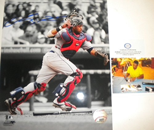Carlos Santana Cleveland Indians Autographed Signed 8x10 Photo Picture 4