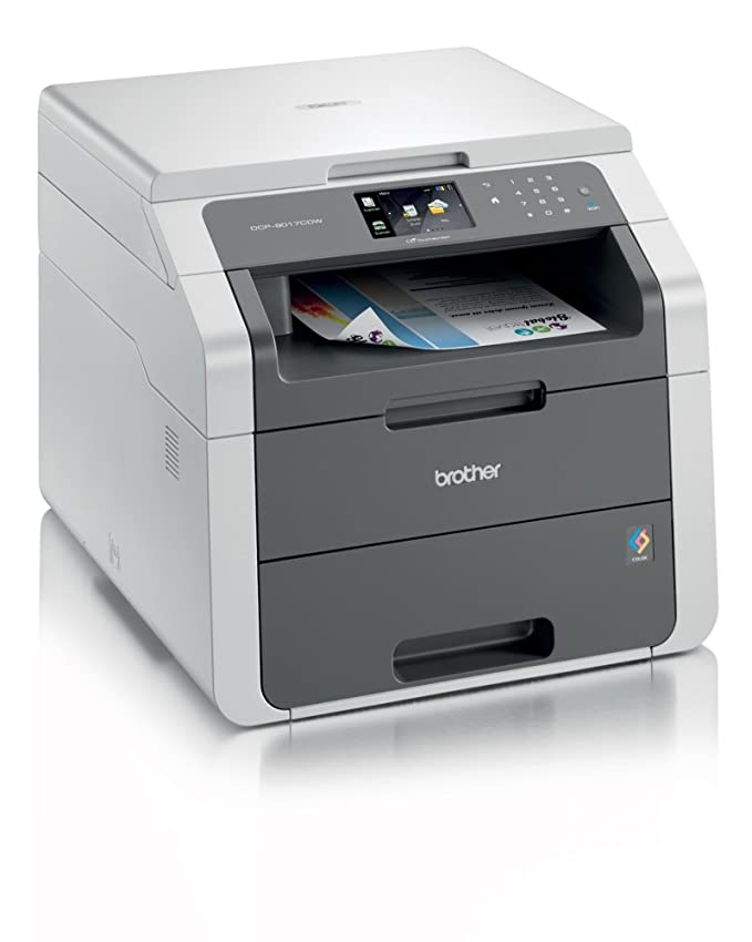 Brother DCP-9017CDW - Impresora multifunción láser (18 ppm ...