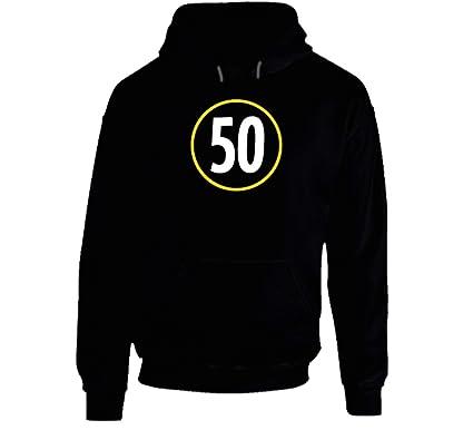 online retailer 27feb 9b590 Ryan Shazier Pittsburgh Football Team Tribute 50 Black ...