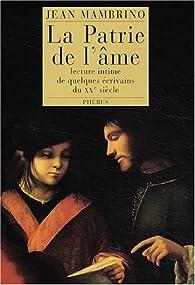 Télécharger La patrie de l'âme PDF Gratuit Jean Mambrino