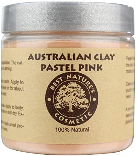 Australian Pastel Pink Clay 100% Pure Natural 8 oz