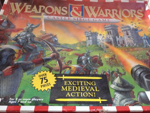 WEAPONS & WARRIORS CASTLE SIEGE GAME (Weapons And Warriors Board Game compare prices)