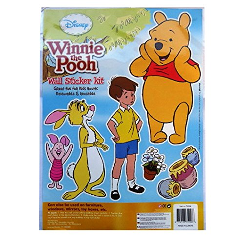 Large Wall Decoration Sticker Kit - Winnie the Pooh & Friends - by Disney