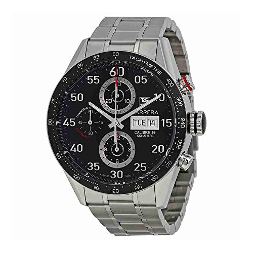 TAG Heuer Men's CV2A10.BA0796 Carrera Automatic Chronograph Watch (Watch 7750 Automatic)