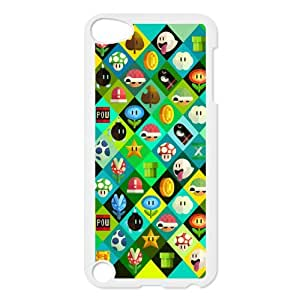 Super Mario Bros For Ipod Touch 5th Csae protection phone Case ER953464