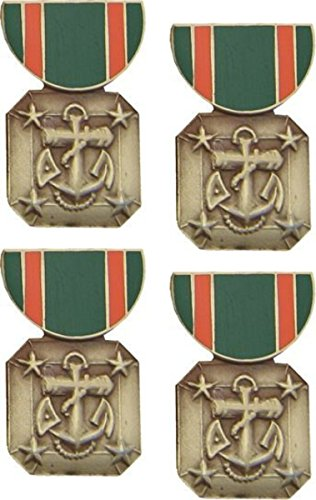 - MilitaryBest Navy Marine Corps Achievement Medal Hat Pin 4 Pack
