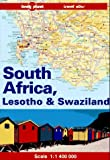 Front cover for the book Lonely Planet South Africa, Lesotho & Swaziland Travel Atlas by Jon Murray