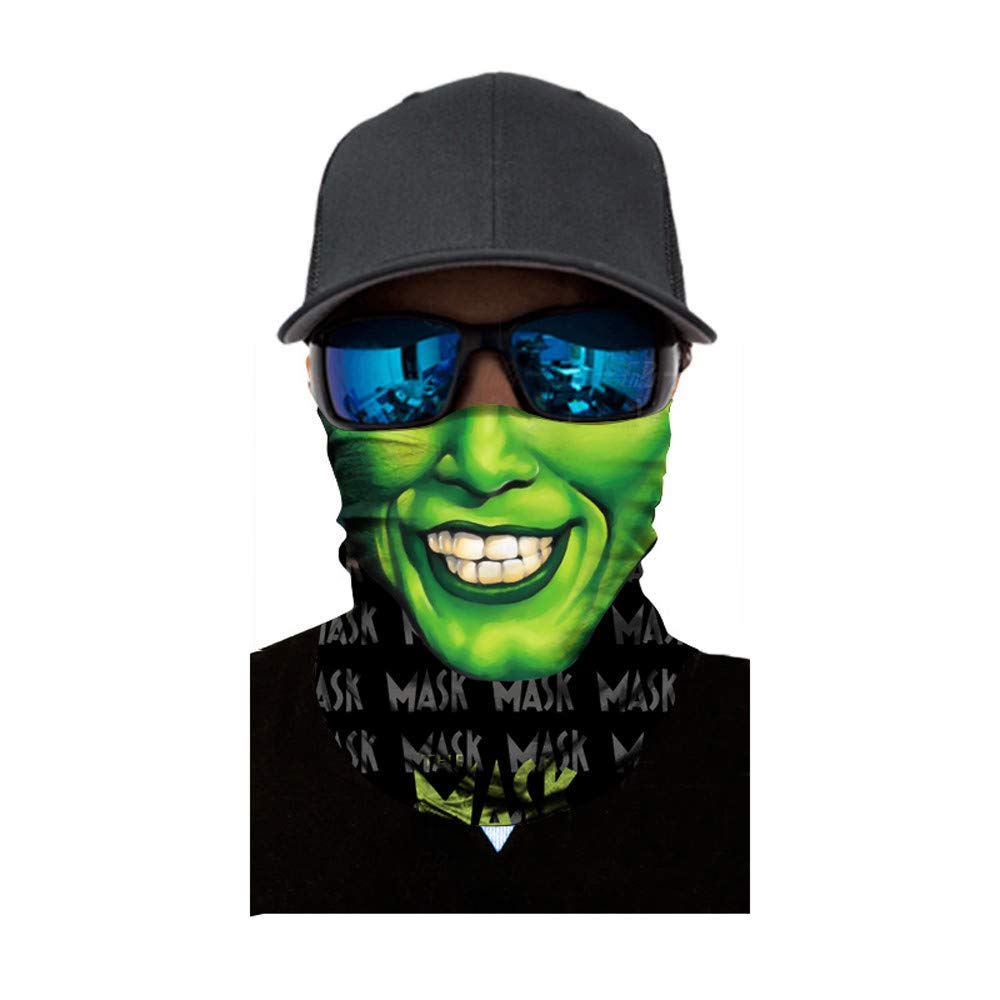 AmyGline Überraschungsmaske Schädel Maske Sturm Maske Geist für Motorrad Fahrrad Ski Paintball Gamer Karneval Kostüm