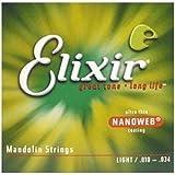 Elixir Mandolin Strings, Medium NANOWEB Coating (.011 - .040)