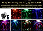 AOMEES Disco Party Strobe DJ Club Magic Lights Show Auto Sound Actived Toy Lights for Kids Birthday Party Bar DJ Ballroom Home Club Wedding Dancing Show Kids Birthday Gifts Or Children's Night Lights by AOMEES