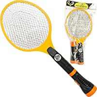 Creatov Electric Mosquito Racket Zapper Swatter - Fly Killer Electric Bug Zapper Tennis Racket Electric Fly Swatter Electronic Mosquito Zapper Racket