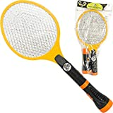 CREATOV DESIGN Electric Mosquito Racket Zapper Swatter - Fly Killer Electric Bug Zapper Tennis Racket Electric Fly Swatter Electronic Mosquito Zapper Racket