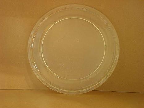 Amazon.com: Sharp – Microondas ntnt-a108wrez vidrio bandeja ...