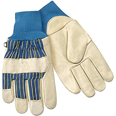 Steiner P2479-L Winter Work Gloves, Grain Pigskin Palm, Heatloc Lined Knit Wrist Cuff, Large